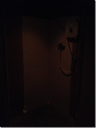 クアラルンプール Skyriver シャワールーム