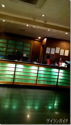クラシックホテル  地下1階スパ 受付