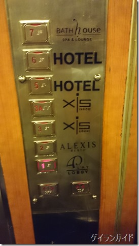 Alexis エレベーター