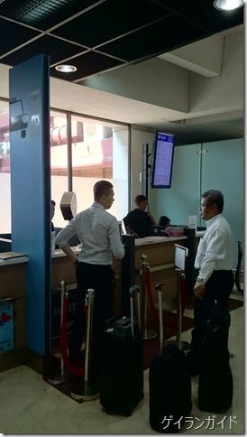 ジャカルタ 空港のリムジンタクシーカウンター