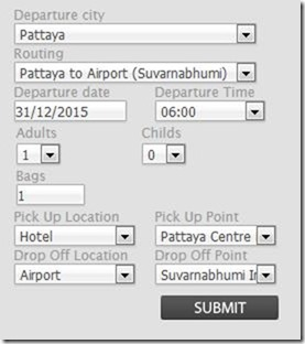pattaya bus form